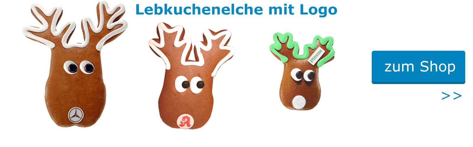 Lebkuchen Elchkopf Shop
