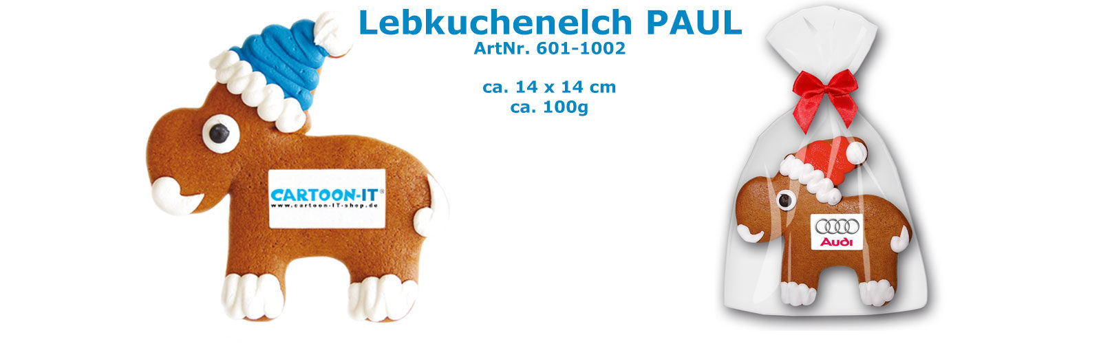 Lebkuchenelch Paul